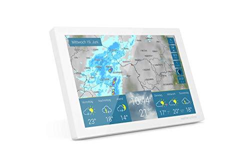 WetterOnline Home - WLAN-Wetterstation - WetterRadar fürs Zuhause: einfache Bedienung, Wettervorhersage auf...