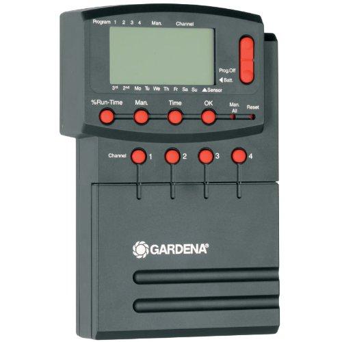 Gardena Comfort Bewässerungssteuerung 4040 modular: Individuell anpassbarer Bewässerungscomputer zur...