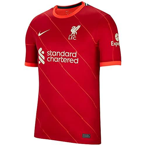 Nike LFC Mnk Df Stadium Home Fan-Trikot Gym red/Bright Crimson/fossil M