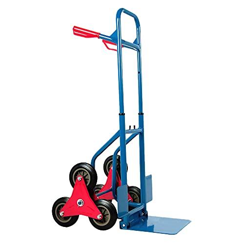 Stel4Style Treppenkarre 200Kg Treppensackkarre Transportkarre Sackkarre Treppen-Sackkarre