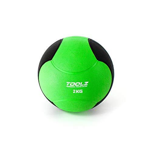 TOOLZ Medicine Ball 2 Kg - Medizinball für das Schnellkraft-, Explosivkraft- und Kraftausdauertraining