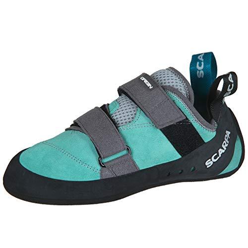Scarpa Origin Kletterschuhe Damen Green Blue Schuhgröße EU 39 2019 Boulderschuhe