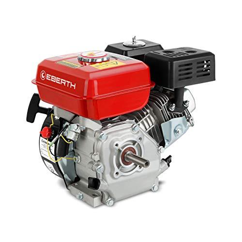 EBERTH 6,5 PS 4,8 kW Benzinmotor Standmotor Kartmotor Antriebsmotor Austauschmotor (3/4 Zoll 19,05 mm Ø...