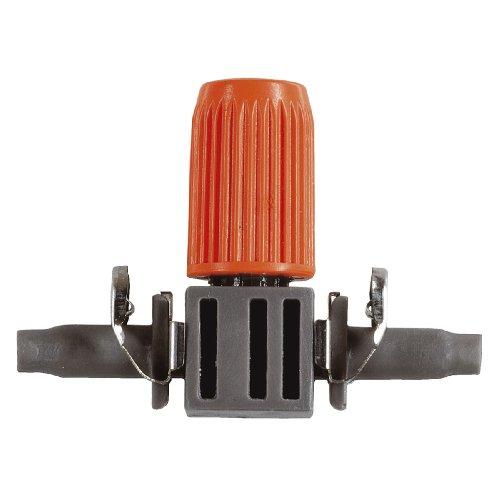Gardena Micro-Drip-System Regulierbarer Reihentropfer: Tropfer für Pflanztröge mit unterschiedlichem...