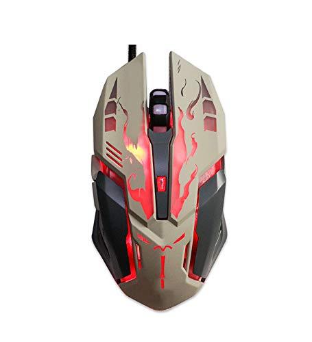 Leuchtende Maus/Maus Stumm Schalten/Gaming-Maus/DVA Gegengewicht/USB Wired Gaming Maus/30M...