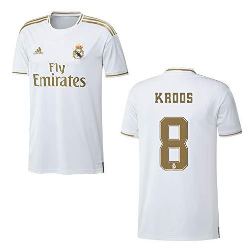 adidas REAL Madrid Trikot Home Herren 2020 - KROOS 8, Größe:L