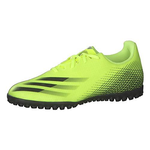 adidas X Ghosted.4 TF Fußballschuhe für Herren, Mehrfarbig (Amasol Negbas Azura), 42 2/3 EU