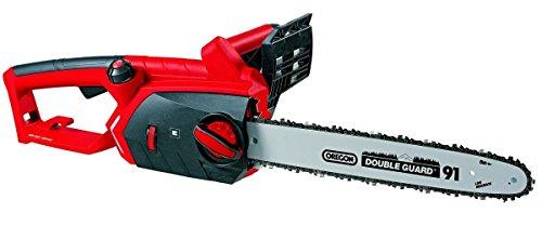 Einhell Elektro Kettensäge GE-EC 2240 (2200 Watt, 375 mm Schnittlänge, Oregon Kette und Qualitätsschwert,...