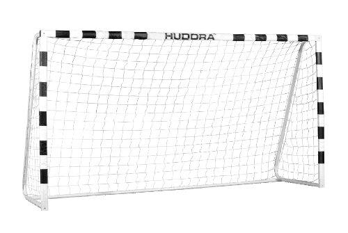 HUDORA Fußball-Tor Stadion mit Netz - Fußballtor Garten groß - 76909