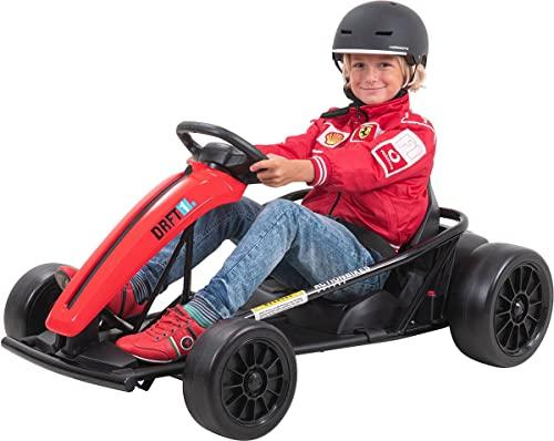 Actionbikes Motors Kinder Elektroauto GoKart - 2 x 350 Watt Motor - 2 x 12 Volt 7 Ah Batterie - Kinderfahrzeug...