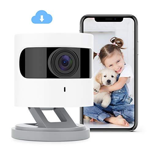 Azarton WiFi Kamera, 1080p HD WLAN IP Kamera, Smart Home Überwachungskamera Innen mit IR Farbnachtsicht,...
