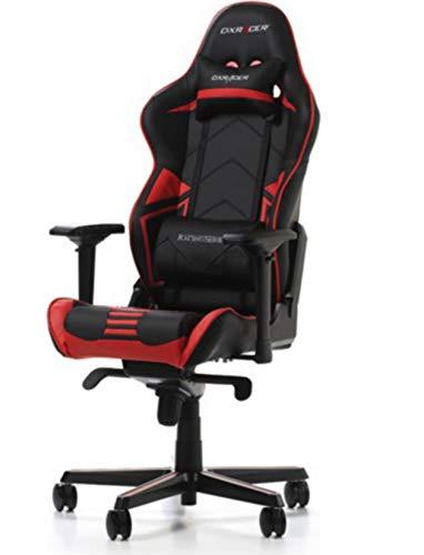 DXRacer Gaming Stuhl, OH/RV131/NR, R-Serie, schwarz-rot, das Original von DX Racer