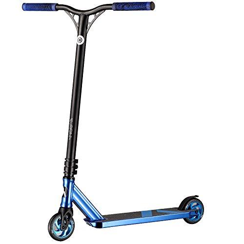 Albott Pro Scooter Stunt Scooter Freestyle Tretroller Stunt Roller mit ABEC9 Lager und 110mm ALU Kern Rollen...
