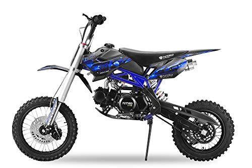 Nitro Motors 125cc Sky Dirtbike mit UpsidDown Gabel (Schwarz)
