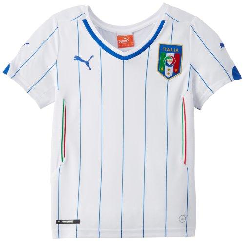 Puma Kinder Italien Trikot FIGC Kids Away Shirt Replica, White, 140, 744297 02