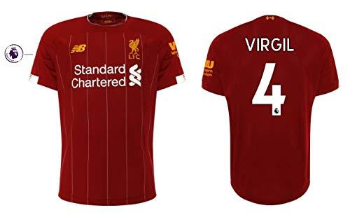 FC Liverpool Trikot Herren 2019-2020 Home PL - Virgil Van Dijk 4 (M)