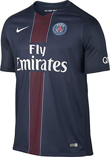Nike 2016-17 PSG Home Football Soccer T-Shirt Trikot (Zlatan Ibrahimovic 10)