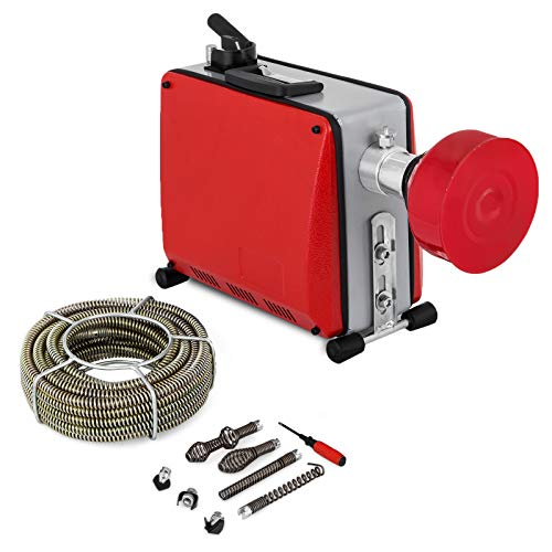 VEVOR 220V Rohrreinigungsmaschine 390W Rohrreiniger 32mm bis 100mm drain clean Rohrreinigungsgerät für Sewer...