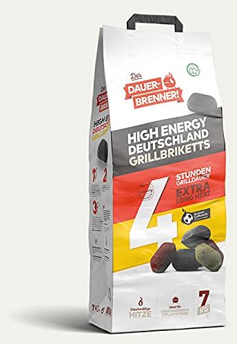 Energie Kienbacher 7-28kg Dauerbrenner Grillbrikett *Deutschland Edition*SONDERAKTION* Premium Grill Briketts...
