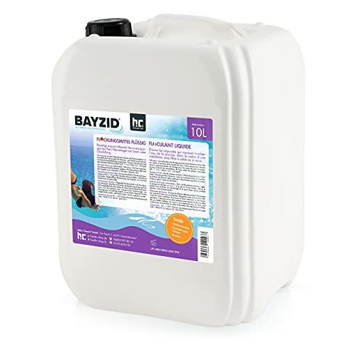 Höfer Chemie 1 x 10 L Pool Flockungsmittel flüssig BAYZID kristallklares Poolwasser - einfache Anwendung +...