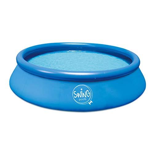 well2wellness® Quick-Up Pool Aufstellbecken Swing Ø366 x 91cm blau