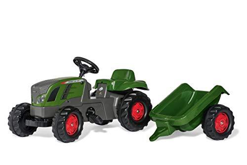 Rollykid 01/316/6 Toys rollyKid Fendt 516 Vario Trettraktor (mit Anhänger, Alter 2,5-5 Jahre, Heckkupplung,...