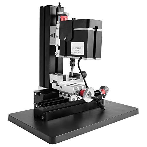 60W 12000RPM Multifunktions-Arbeitstisch-Fräsmaschinen 100-240 V Mini-Metalldrehmaschine...