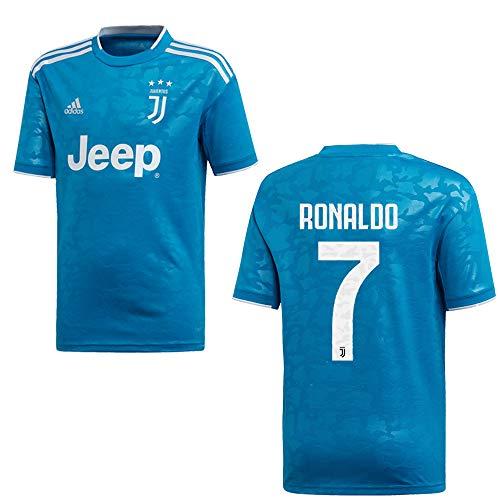 adidas Juventus Turin Trikot 3rd Herren 2020 - Ronaldo 7, Größe:M
