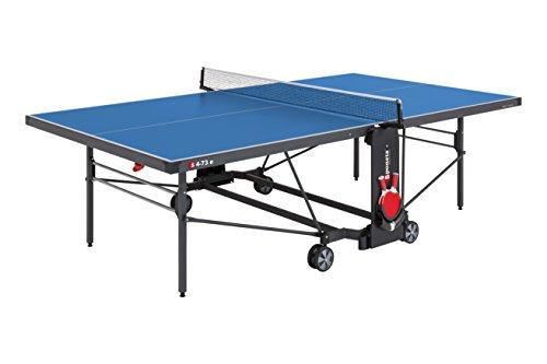 Outdoor-Tischtennisplatte 'S 4-73 e Expertline' (274 x 152,5 x 76 cm, blau)