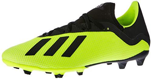 adidas Herren X 18.3 Fg Fußballschuhe, Gelb (Amasol/Negbás/Ftwbla 001), 43 1/3 EU