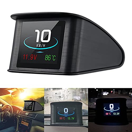 Coomir P10 Auto HUD Head up Display Auto HUD Display Intelligente Digitale Tachometer LCD Display OBD 2...
