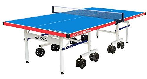 JOOLA Tischtennistisch ALUTERNA - Profi Outdoor Tischtennisplatte Wetterfest 6 MM...
