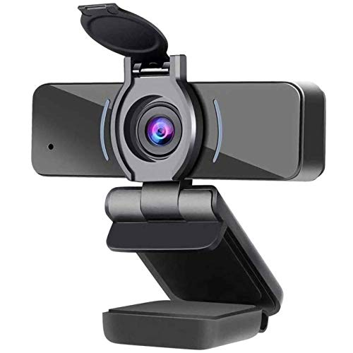 ZILNK USB Kamera 1080P, Webcam mit Mikrofon, PC Desktop Laptop Voll HD Webkamera für Videoanrufe, Studieren,...