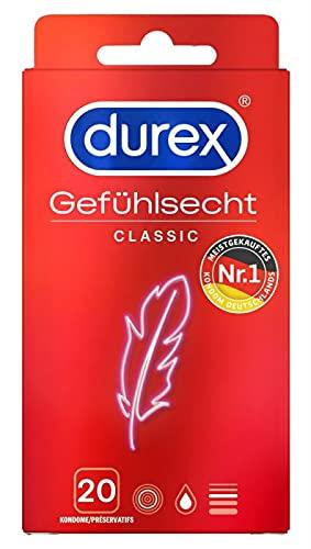 Durex Kondome Gefühlsecht Classic, 20 Stück