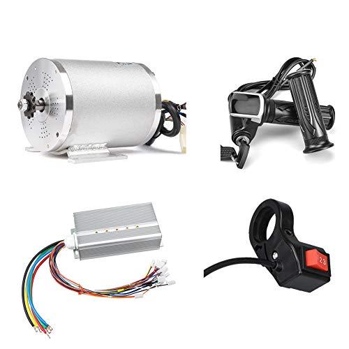 Elektroroller Motor 48V 2000W Mittel Antriebsmotor DC Bürstenloser Controller 45A mit LCD-Drosselklappengriff...