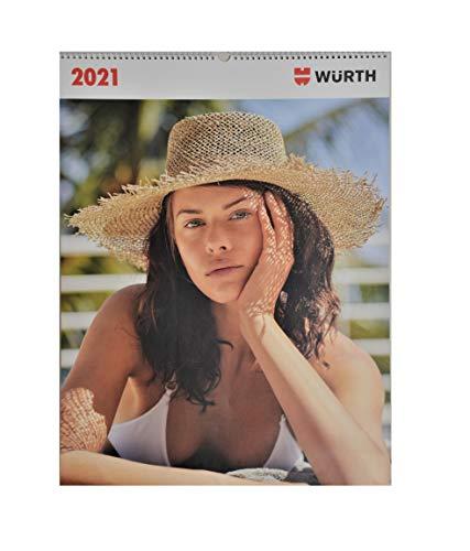 Würth Kalender 2021 Limited Edition Models Modelkalender Wandkalender Erotik Kalender