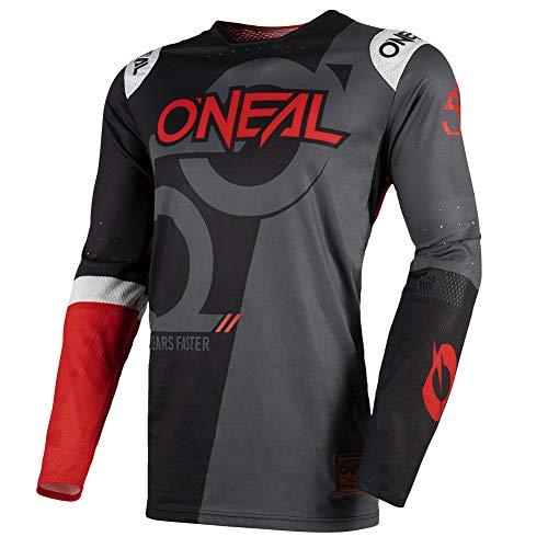 O'NEAL | Motocross-Shirt Langarm | MX MTB Mountainbike | Radtrikot mit bündchenlosen Ärmeln & Perfekter...