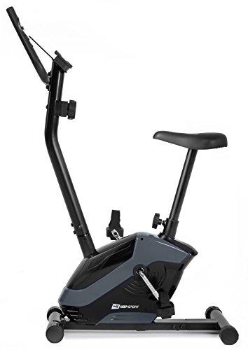 Hop-Sport HS-045H EOS Heimtrainer Fahrrad für Zuhause - kompaktes Fitnessbike mit Pulssensoren und...