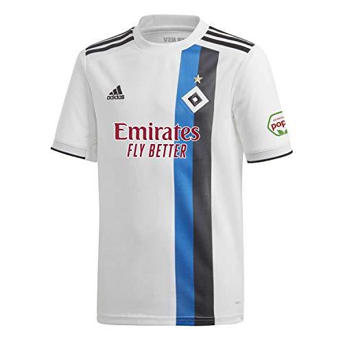 adidas Herren H WHS Trikot, White/Black/HSV Blue, S