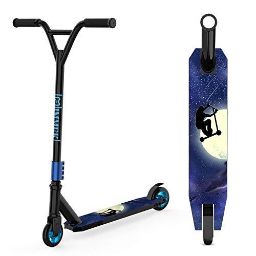 IMMEK Stunt Scooter Teenager Trick Roller Robuster Funscooter 360° Lenkung Sports mit ABEC-9 Kugellagern und...