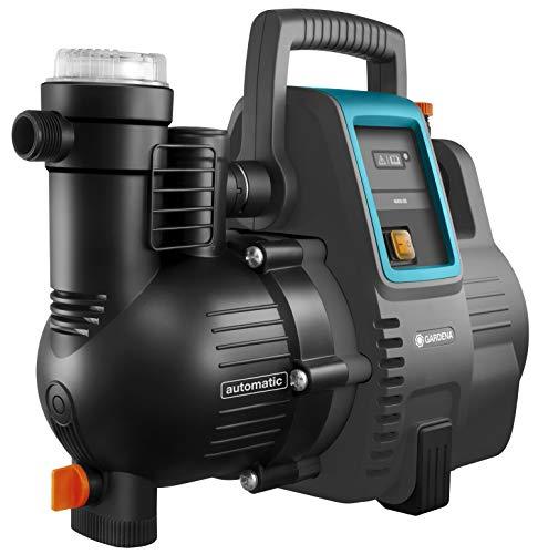 Gardena Hauswasserautomat 4000/5E: Energiesparende Hauswasser- und Bewässerungspumpe mit innovativer Technik,...