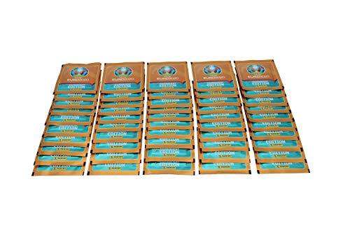 Panini UEFA Euro 2020 Tournament Edition Sammelsticker 50 Stickertüten