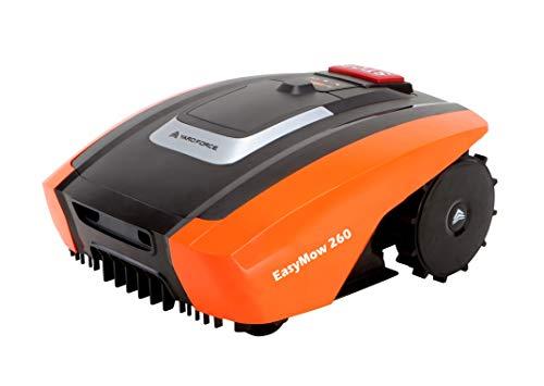 Yard Force Mähroboter EasyMow260 für geeignet für bis zu 260 qm-Selbstfahrender Rasenmäher Roboter,...