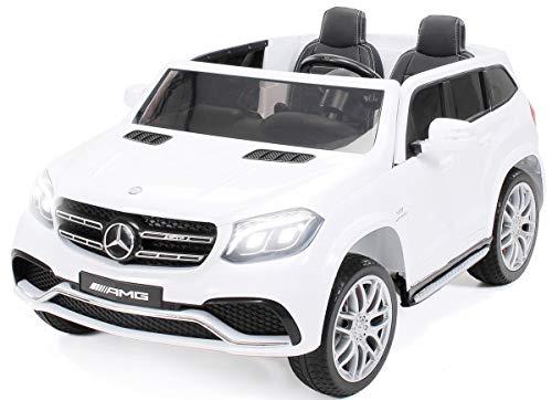 Actionbikes Motors Kinder Elektroauto Mercedes GLS63 Allrad Leder Sitz Kinderfahrzeug Kinderauto 45 Watt 2...