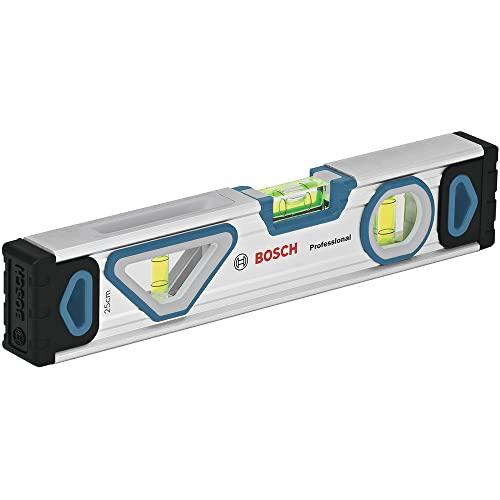 Bosch Professional Wasserwaage 25 cm mit Magnet System (rundum ablesbar, Aluminium-Gehäuse, robuste...