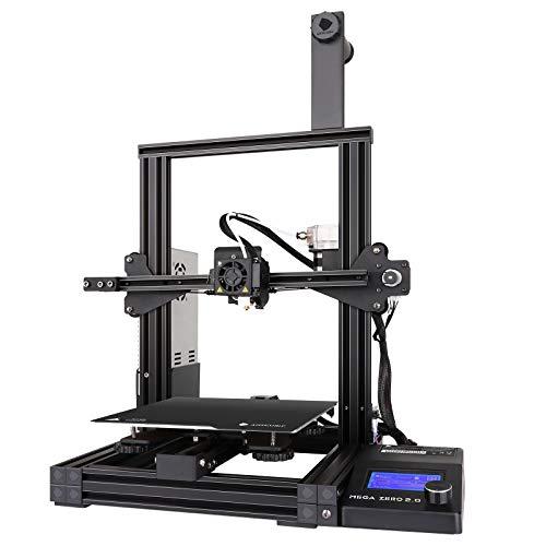 ANYCUBIC 3D-Drucker, MEGA ZERO 2.0 FDM 3D-Drucker mit Magnetdruckbett und zusätzlicher Nivellierung,...