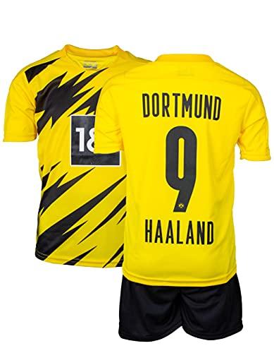 AMD SPORTS Dortmund Kinder Trikot Erling Haaland #9 (3-14 Jahre)