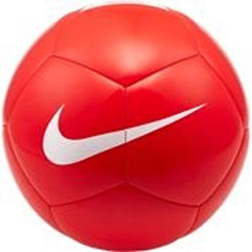 Nike Unisex Pitch Team Fußball, Bright Crimson/White, 5