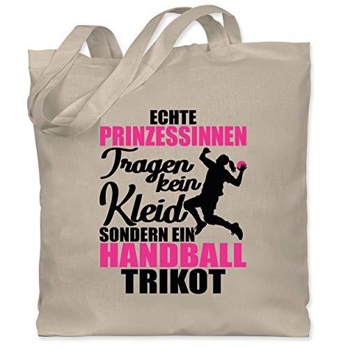 Handball Geschenk für Handballer - Echte Prinzessinnen tragen kein Kleid sondern ein Handball Trikot -...