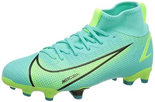 Nike Unisex Mercurial Superfly 8 Academy MG Fussballschuh, Dynamic Turquoise/Lime Glow, 36 EU